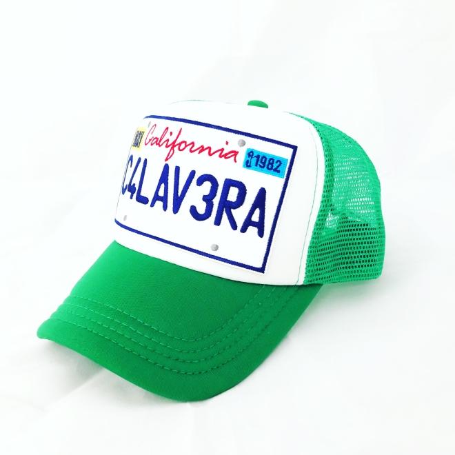 Green California Calavera
